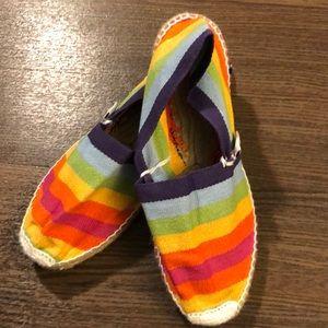 Alpargatus Spain Handmade Rainbow Espadrilles 39